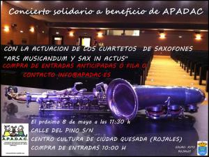 8th may, concert in aid APADAC